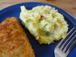 Kartoffel-Lauch-Püree