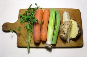 Suppengrün auf Vorrat