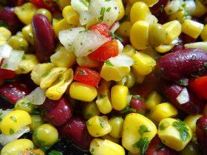 Kidneybohnen – Mais – Salat